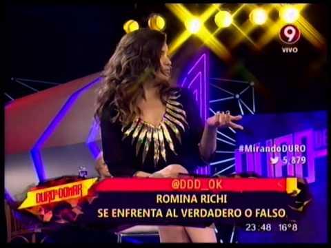 VERDADERO O FALSO - ROMINA RICCI - 17-04-2015
