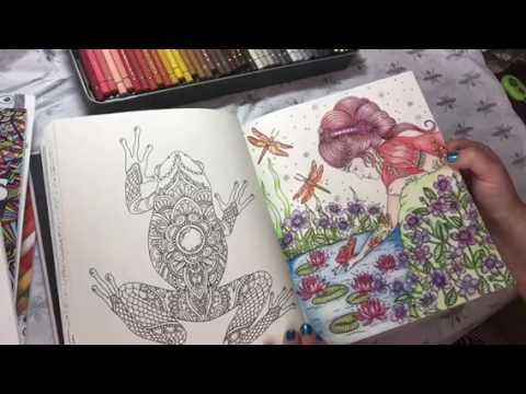 Sommernatt Summer Night Colouring Book Review Hanna Karlzon