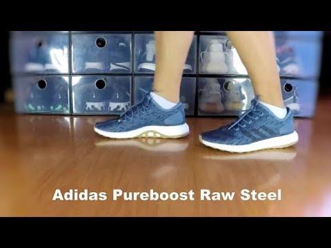 Adidas Pureboost Raw Steel - On Feet