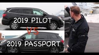 2019 Pilot vs 2019 Passport