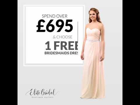 1c3b922ce3 Bridesmaid Offer. Elite Bridal Boutique Outlets