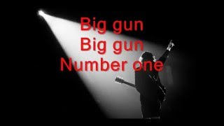 ACDC Big Gun   Lyrics