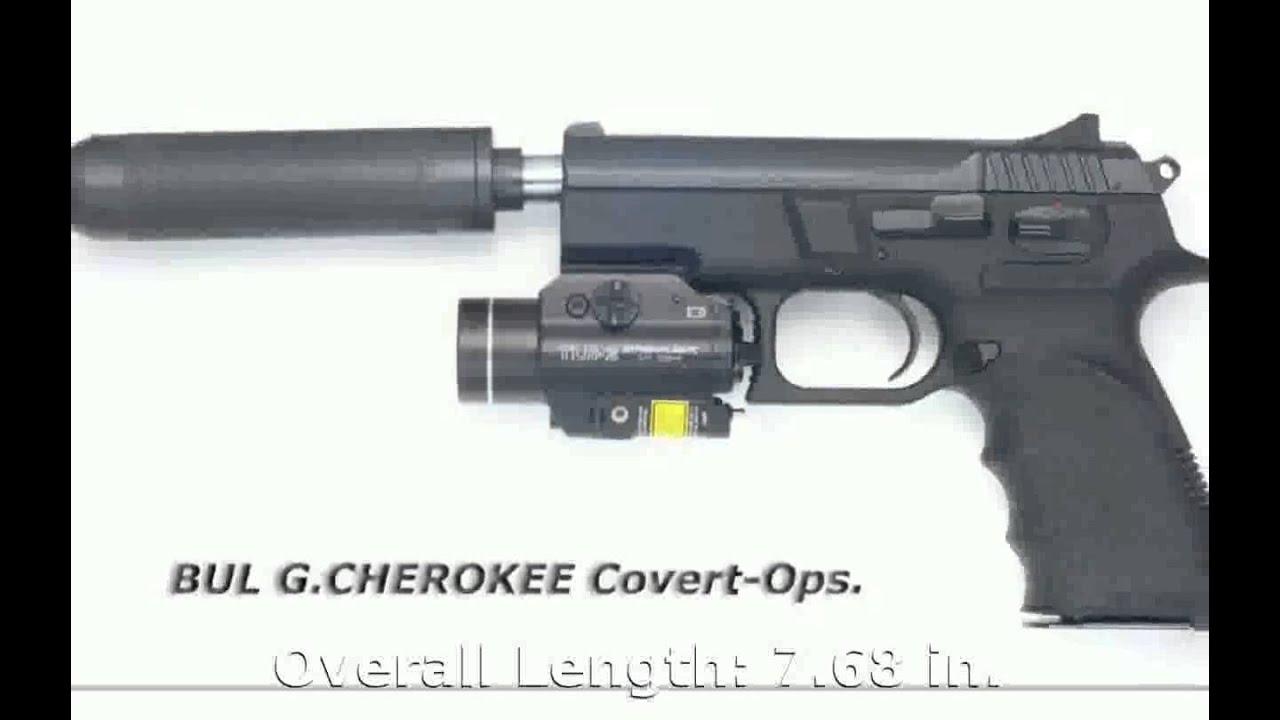 BUL Cherokee Compact 9mm Luger Pistol - Tech Details