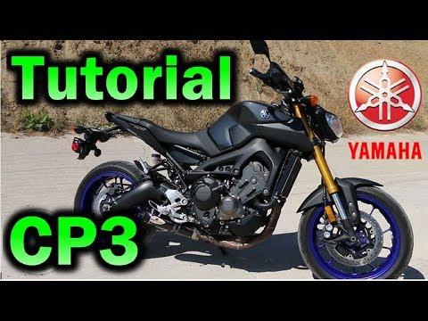 YAMAHA FZ O9 CAMBIO DE ACEITE TUTORIAL / MT 09/ FJ 09 / XSR 900 MOTOR CP3