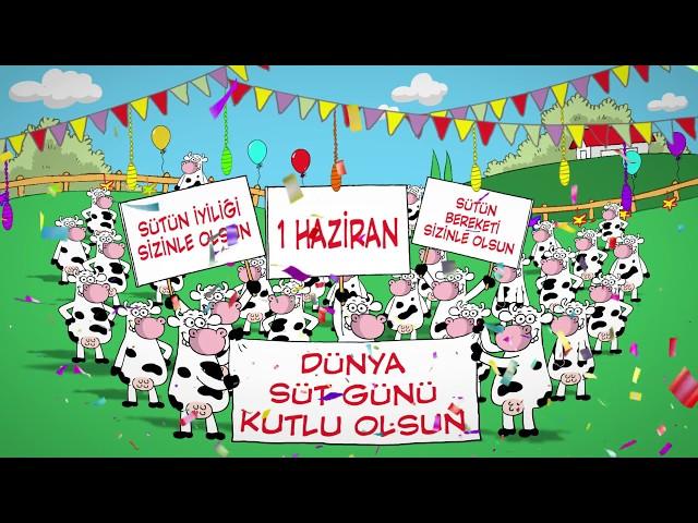 1 Haziran Dünya Süt Günü Kutlu Olsun!