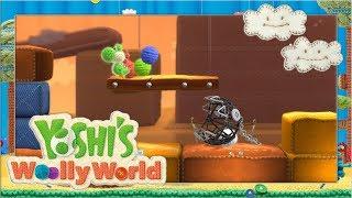 Flüschiger Kettenhund! #4 🧶 Yoshi's Woolly World | Let's Play Wii U