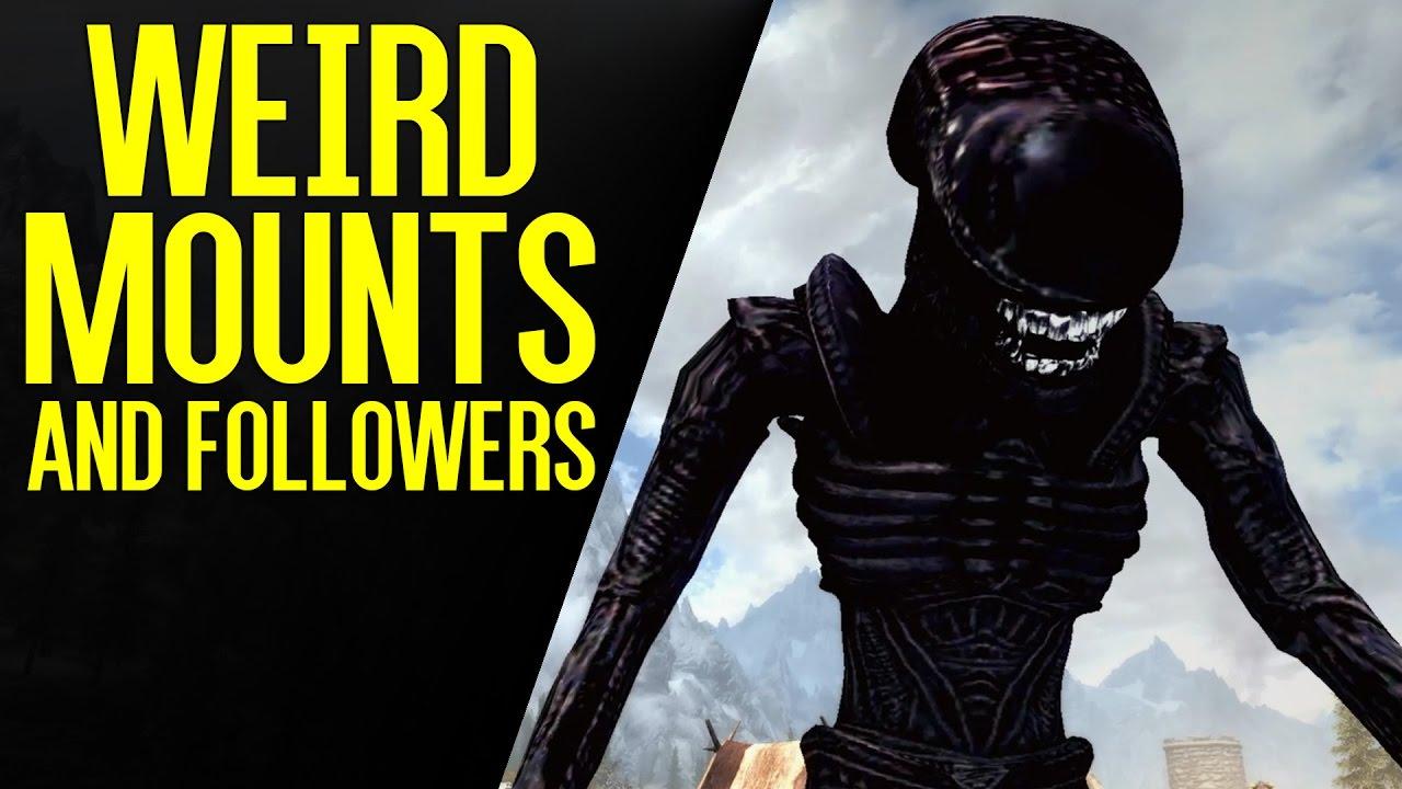 Mounts and Followers Mod (With Bonus Astronaut Horse) | Skyrim Special  Edition Mod Spotlight