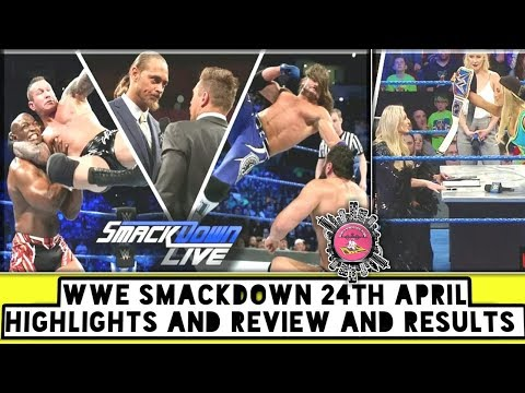 WWE Smackdown 24th April Highlights And Review And Results/World Wrestling Tamil thumbnail