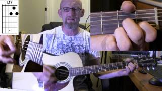 The Beatles - Rocky Raccoon Acoustic Guitar Lesson with Chords, Lyrics and other bits