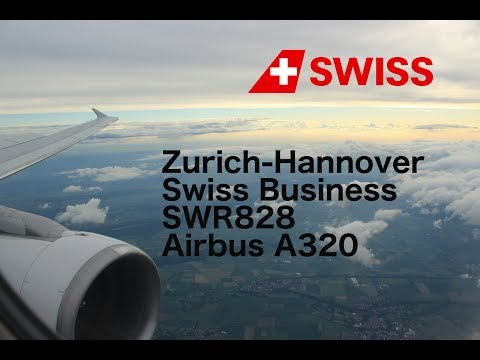 Flight Report: Zurich-Hannover Swiss Business Class A320