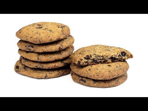 Печенье с шоколадной крошкой. Простой рецепт.