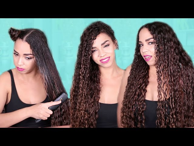 ULTIMATE WASH AND GO NATURAL HAIR ROUTINE | DEFINED CURLS