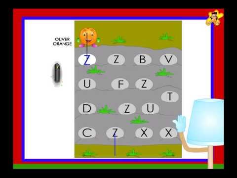 Kindergarten worksheets  -  letter Z recognition