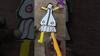 #Dancingdoll#Making#Art#Craft by Sowjanya's Tlm creative crafts