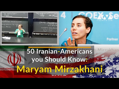 50 Iranian-Americans you Should Know: Maryam Mirzakhani