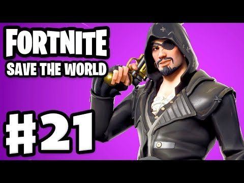 Fortnite: Save The World - Gameplay Walkthrough Part 21 - YARRR! Pirates! (PC)