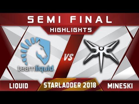 Liquid vs Mineski [EPIC] Starladder i-League 2018 Highlights Dota 2