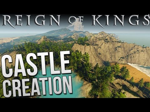 Let's Play Reign of Kings | Making A Castle & Iron Forging - Gameplay Episode 5