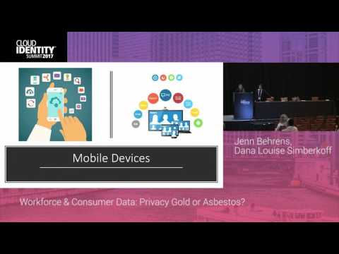 6/20 | Workforce & Consumer Data: Privacy Gold or Asbestos? | CIS 2017