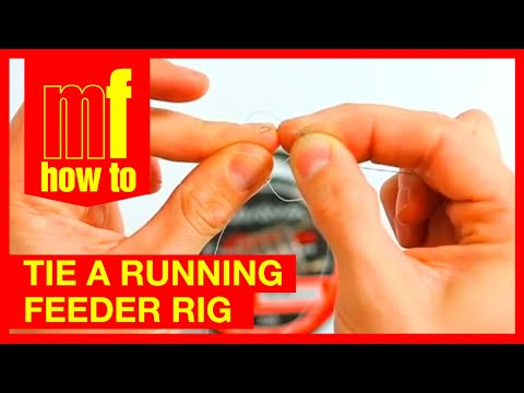 HOW TO - TIE A RUNNING FEEDER FISHING RIG!