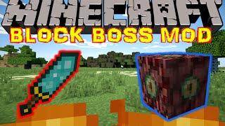 LES BOSS LES PLUS WTF EVER !! - BLOCK BOSS MOD Minecraft 1.7.10 [FR] [HD]