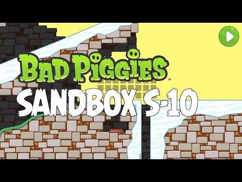Bad Piggies Sandbox S-10 Walkthrough – How to Get All 20 Stars
