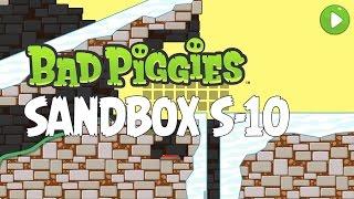 bad piggies sandbox s 10 walkthrough how to get all 20 stars