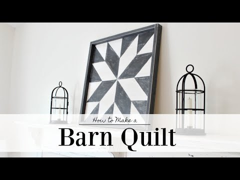 Barn Quilt | How To Paint | Farmhouse Style
