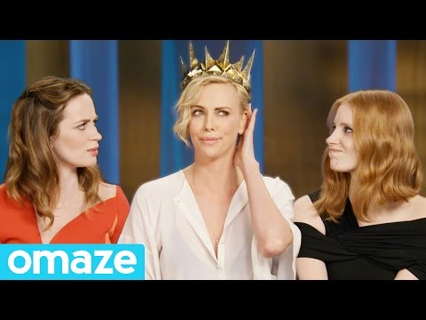 A Royal Invite from Charlize Theron, Jessica Chastain and Emily Blunt // Omaze