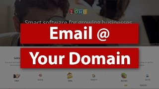 How to set uṗ email at your own domain name