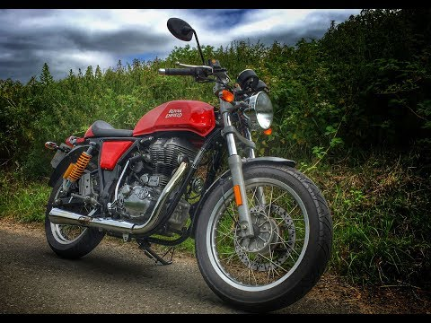 2017 Royal Enfield Continental GT Review - Euro 4 ABS model