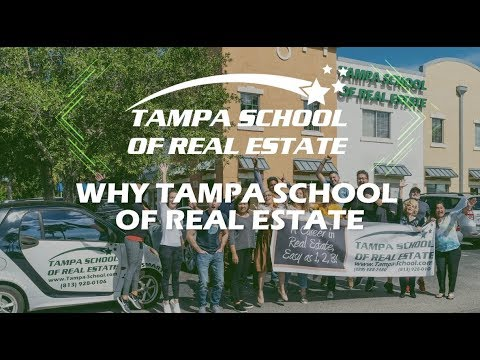 Why Tampa School Of Real Estate Youtube