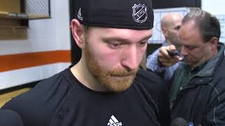 Flyers collapse - say the players and coaches...