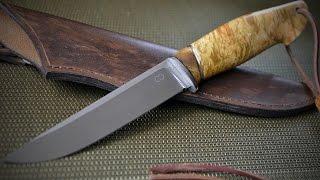 Нож ручной работы 95Х18(Нож ручной работы Клинок из стали95Х18, рукоять кап клена+кап акации (на проставке), больстер нержавейка,..., 2016-02-01T11:20:19.000Z)
