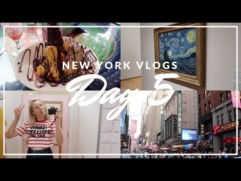 New York Vlog | August 2018 | Day 5 - Shopping, Dylan's Candy Bar and Frozen the Musical