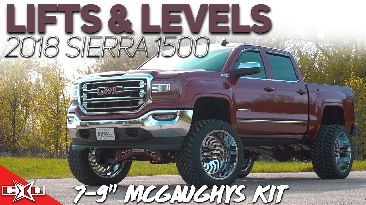 """Lifts & Levels: 7-9"""" McGaughys Lift Kit for 2014-18 Sierra ..."""