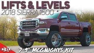 Lifts Amp Levels 7 9 Mcgaughys Lift Kit For 2014 18 Sierra 1500