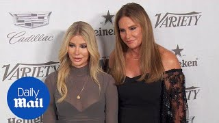 Caitlyn Jenner and Sophia Hutchins attend the Variety party