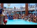 THE END OF THE CRUISE (Belly Flop Competition)