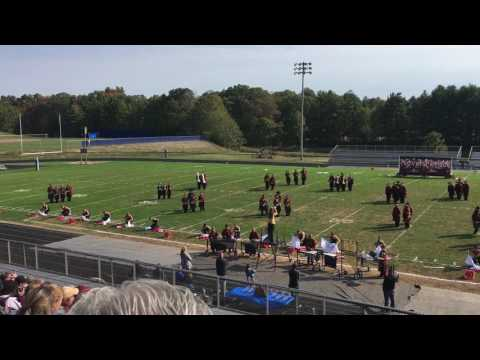 Meigs high school band at competition