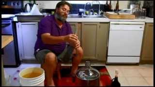 Easy Hard Apple Cider From Frozen Apple juice 5 Gallon  Pt 1