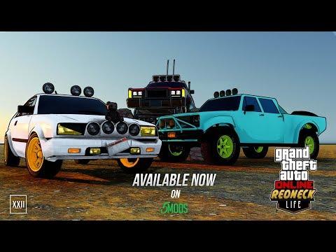 GTA Online Redneck Life Concept - Vehicle Pack #1 Download  (Reupload)
