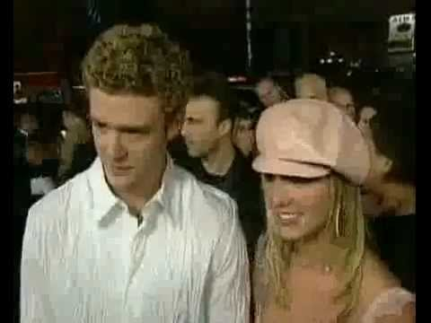 Britney Spears And Justin Timberlake At Crossroads Premiere 2002 Youtube