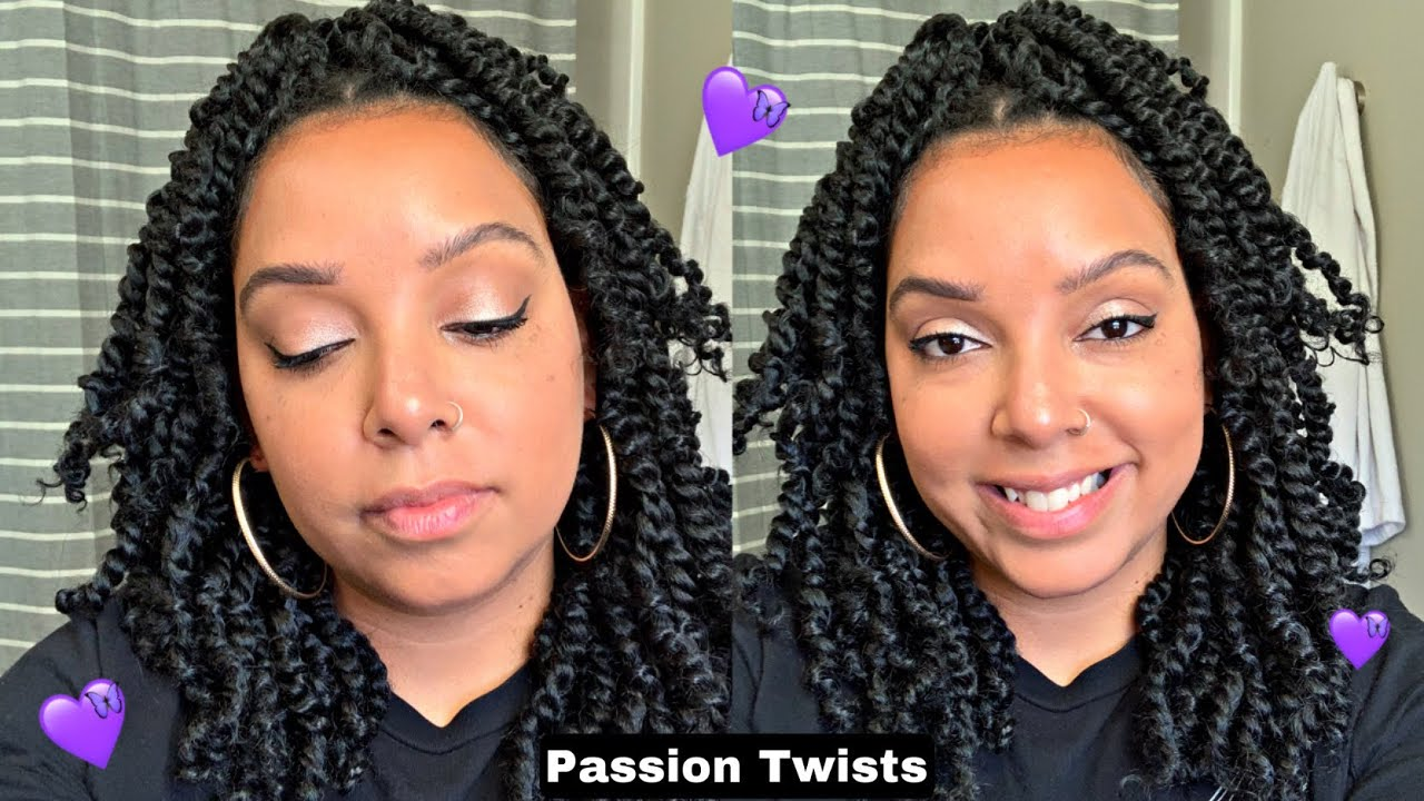 Losmoeer Passion Twist  Pre-looped Crochet Braids Quickly Install  Dorsanee Collection Giveaway