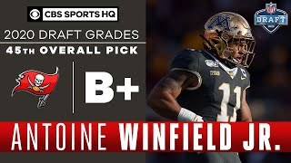 The Buccaneers select a HIGHLY SKILLED Antoine Winfield Jr. with the 45th pick | 2020 NFL Draft