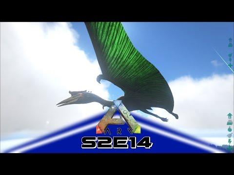 ARK: Survival Evolved (Gameplay) E14 - Quetzalcoatlus/Tranq Darts