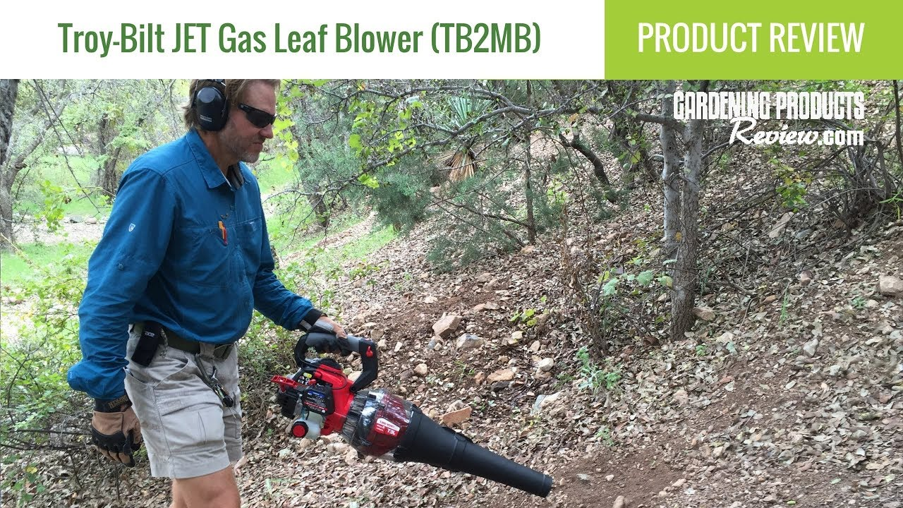 Troy-Bilt JET Gas Leaf Blower (TB2MB): Product Review