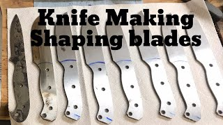 Knife Making: Shaping Blades