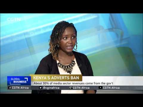 Kenya governtment directive banned ads by gov't agencies in commercial media