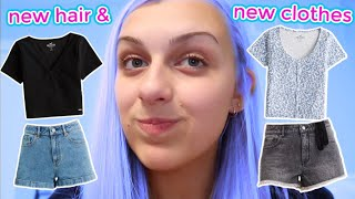 New Hair & New Clothes! Shopping Haul!